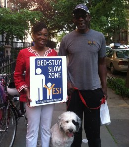 Brooklyn CB 3 has succeeded in keeping lower speed limits out of Bed Stuy. Photo:  Shawn Onsgard/Facebook