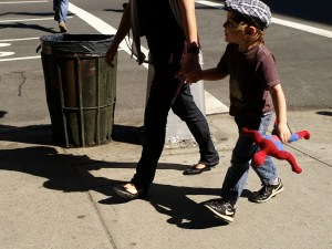 NYC's streets remain the top cause of injury-related death for children. Photo: Susan Sermoneta/Flickr