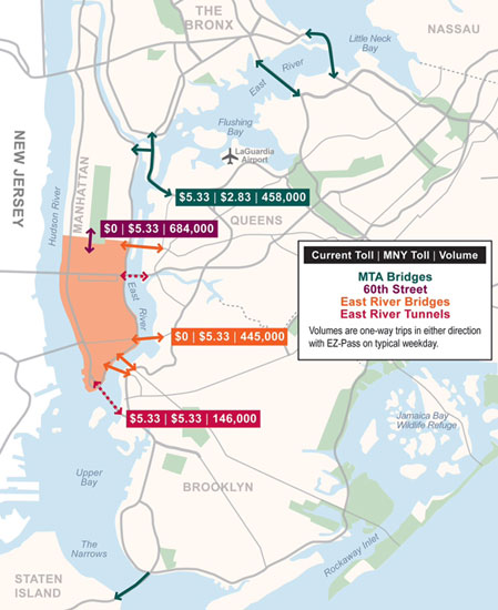 Map Of Route 684 In New York.Fair Tolls Fixing Nyc S Gridlock And Transit Shortfall In One Fell