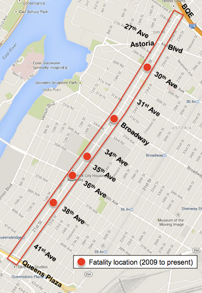 Astoria Nyc Map.Dot S Safety Plan For 21st Street In Astoria Leaves Everyone Wanting