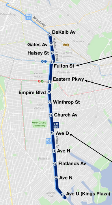Utica Avenue Select Bus Service Will Roll Out This Fall ... on