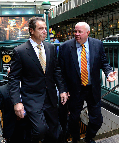 """""""Andrew, we can barely keep up with this ridership."""" Photo: MTA/Flickr"""