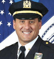As head of NYPD Highway Patrol, Deputy Inspector Michael Ameri is responsible for police crash investigations.