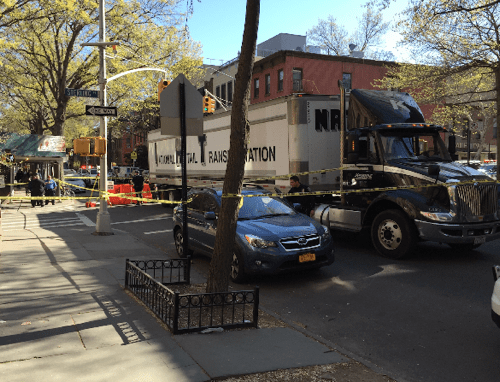 A trucker killed cyclist James Gregg in Park Slope in April. With City Hall withholding crash data, the public doesn't know how many other serious crashes are occurring. Photo: Eric McClure