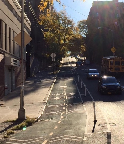 What the bikeway used to look like. Photo: Alec Melman