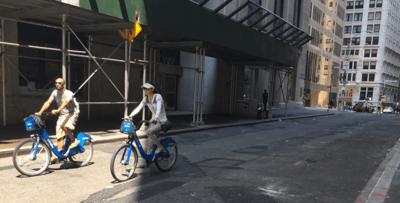 citibike shared streets