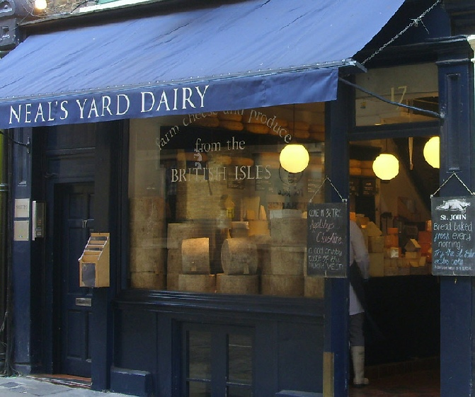 Neal S Yard Dairy On Shorts Gardens In London S Covent