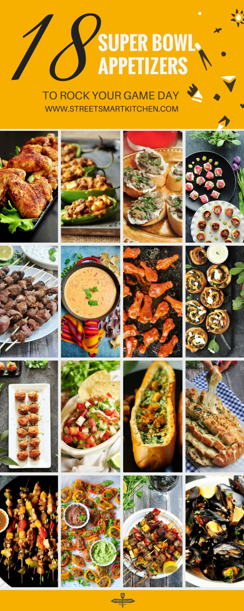 Everyone wants to devour single-bite Super Bowl appetizers while they watch the big game. These awesome recipes will get your guests just as excited about the food as the football.