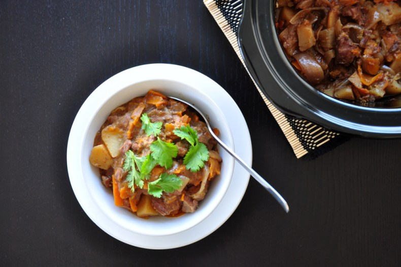 Looking for something healthy and savory? Come home to this comforting, slow cooker beef stew recipe, which can be cooked to perfection while you're at work.