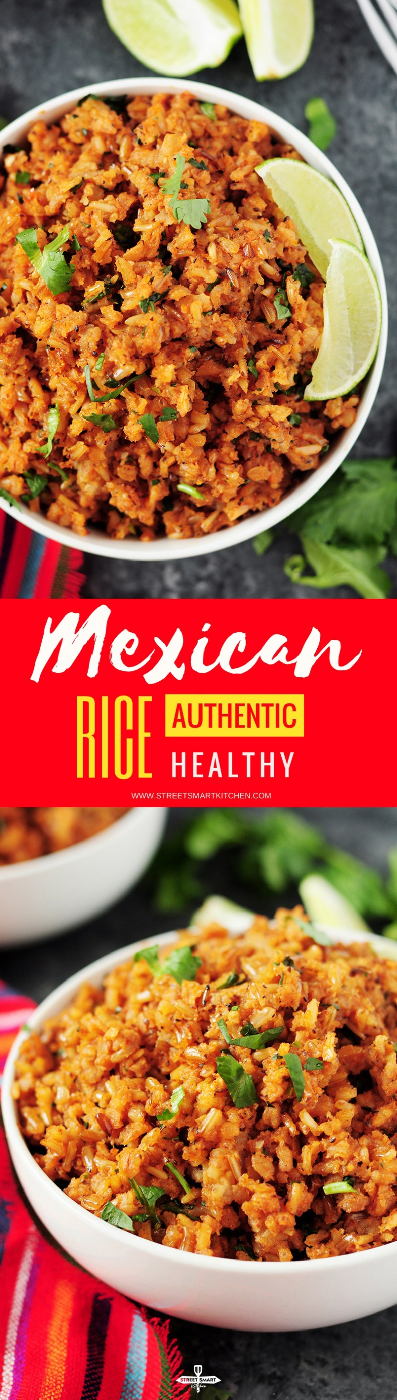 Easy Mexican rice recipe made authentic, healthy, and addictive, plus a step-by-step guide on how to make the best Mexican rice every single time.