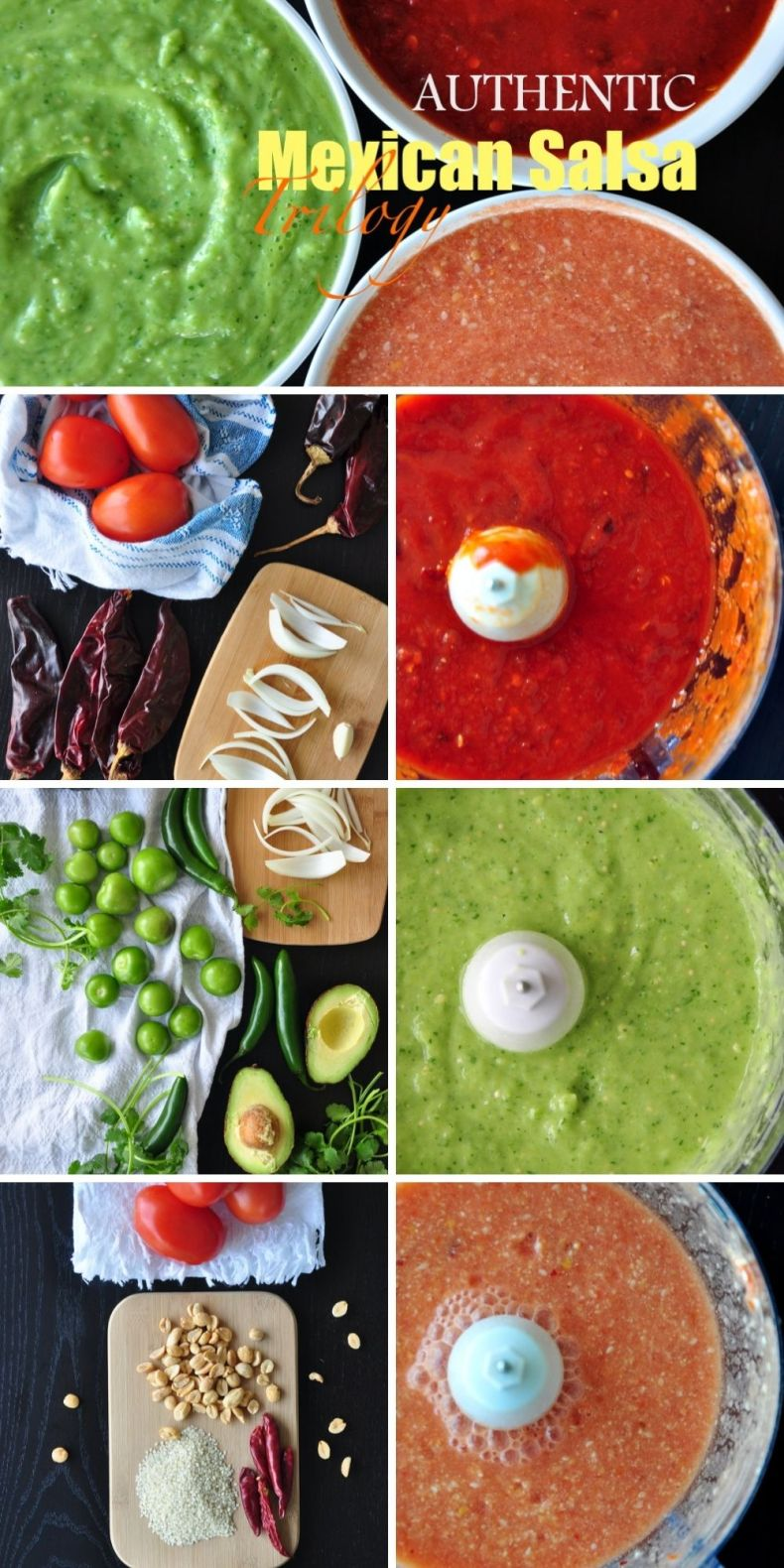 Authentic Mexican Salsa Trilogy