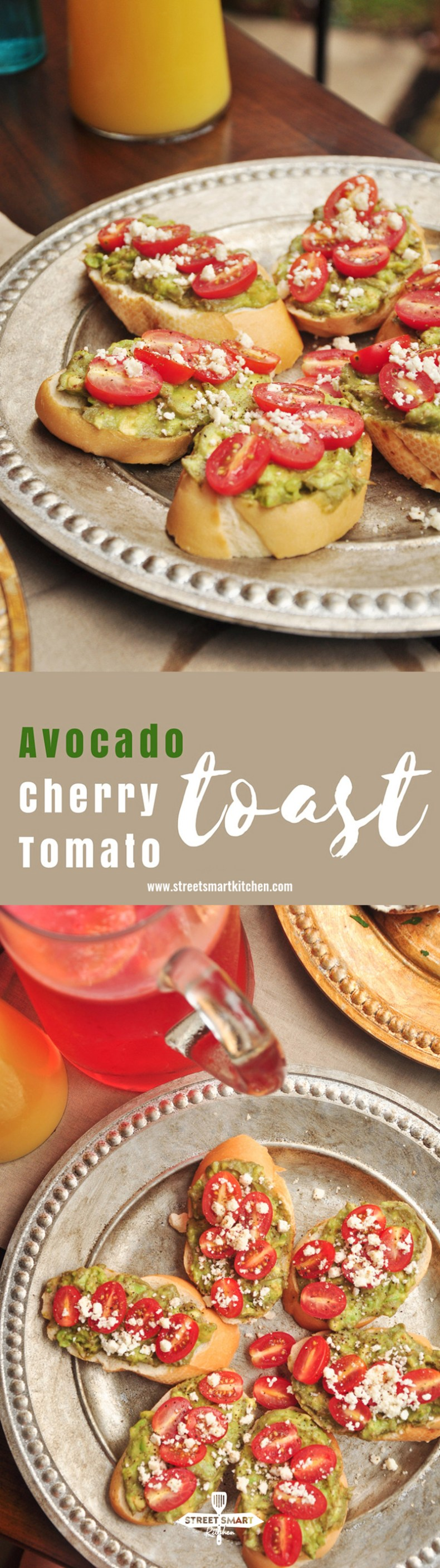 We've made an avocado toast before, with bacon and maple syrup. YASSSS! It's so yum! But I don't wake up and crave greasy stuff every morning. So today's avocado toast recipe is going to be a light and extremely healthy one. No cooking is required, just throw things together on toasted bread to make a beautiful mess.