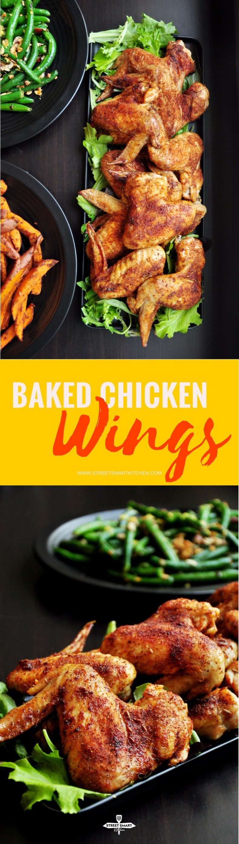 Baked Chicken Wings {Video}