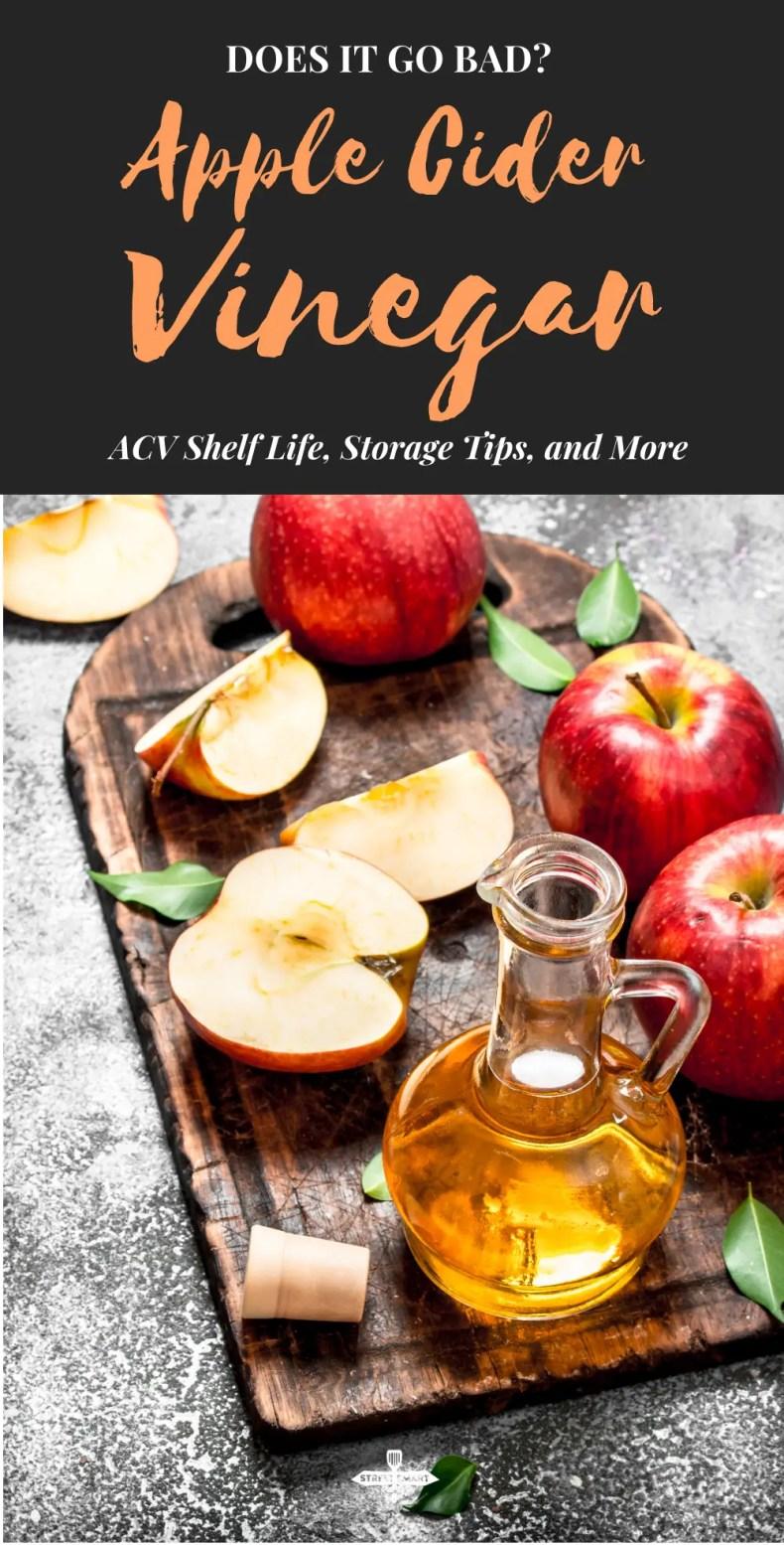 Does Apple Cider Vinegar Go Bad pin