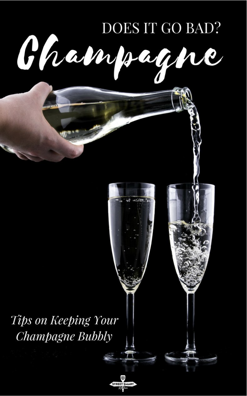 Does champagne go bad? An opened bottle of champagne can last up to five days while an unopened bottle can last up to four or