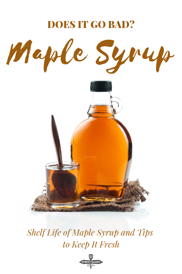Does maple syrup go bad? No, it doesn't. It can develop mold or crystallize, but that's not a definitive sign of a spoiled maple syrup. Let's look at the shelf life of pure maple syrup, the reason for its long shelf life and how it's safe to consume your syrup—even when mold develops.