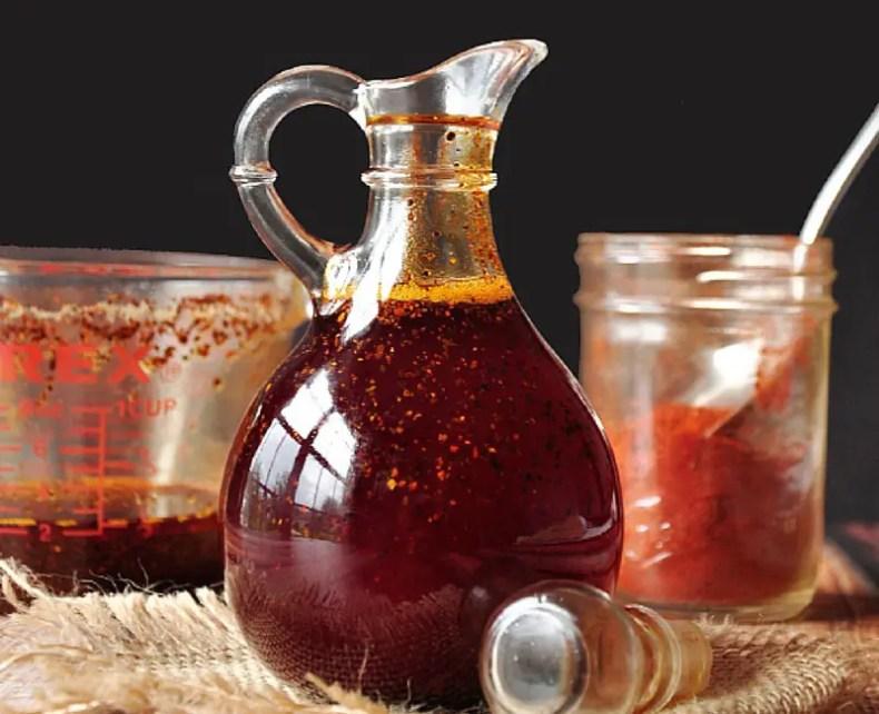 Homemade Hot Chili Oil