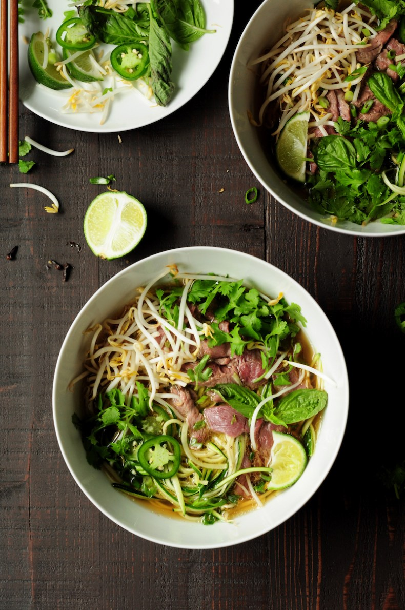 HOW TO MAKE PHO WITH ZUCCHINI NOODLES STREETSMART KITCHEN