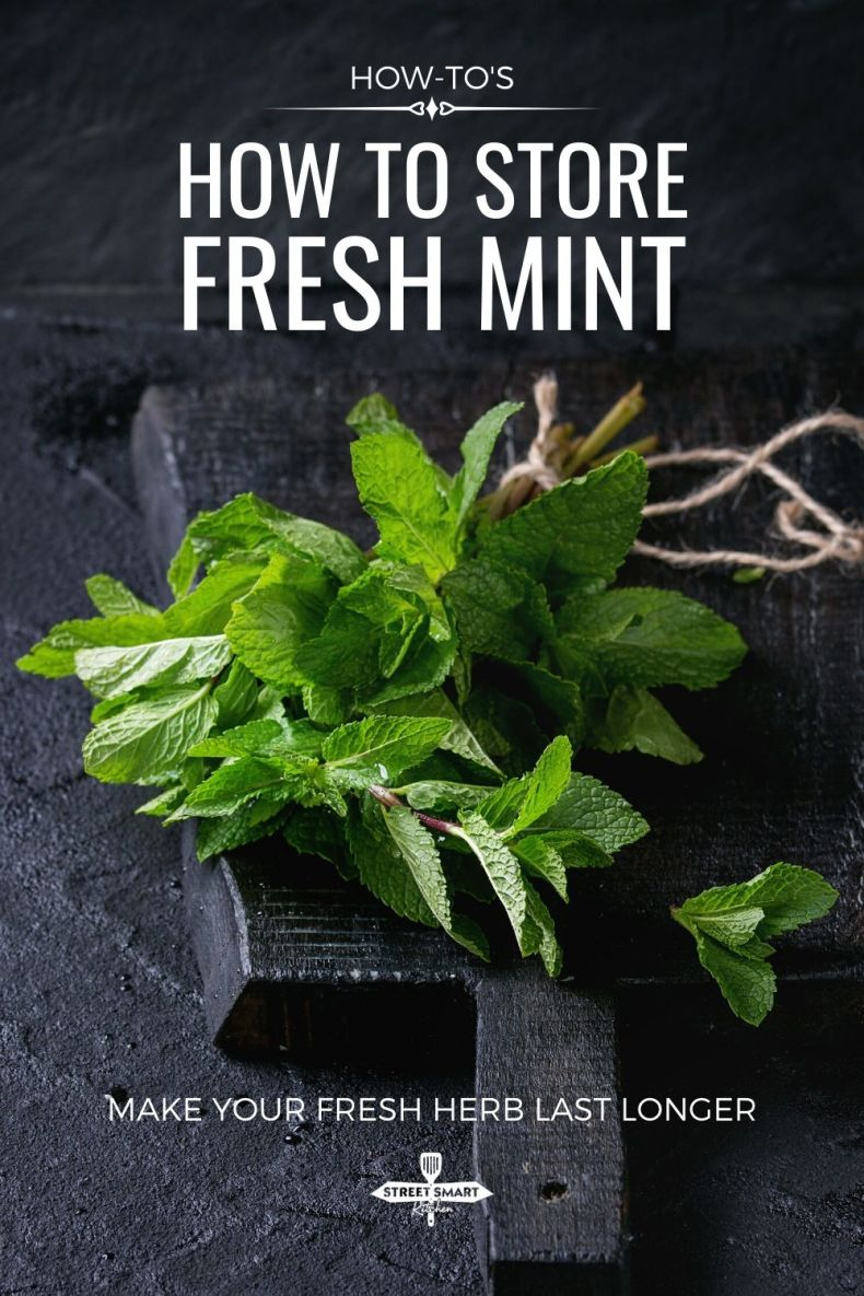 You love fresh mint but it goes bad so fast. Learn how to store fresh mint and other herbs using these methods so they can last you several weeks.