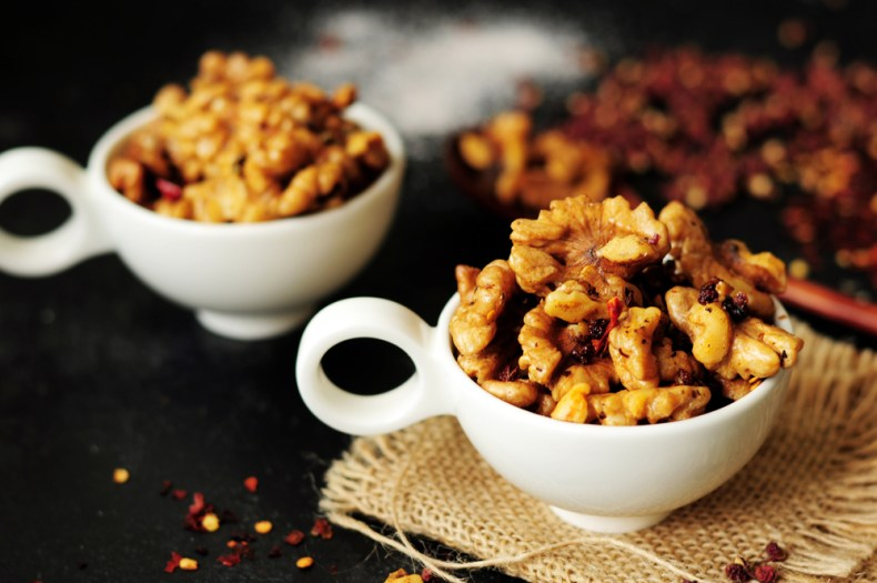 Szechuan-Style Toasted Walnuts
