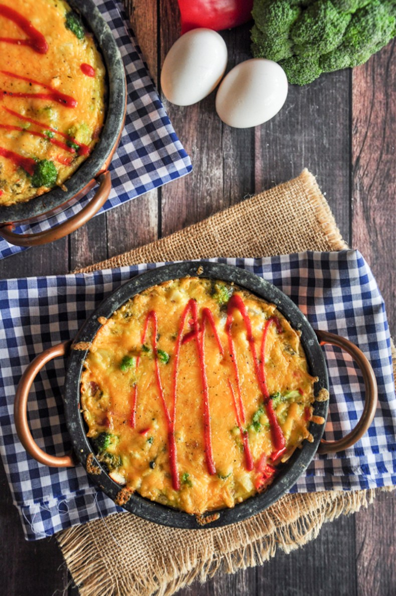 Upgrade your next brunch with this baked frittata recipe. It's filling, ready in 30, and easy to customize based on the ingredients you already have.