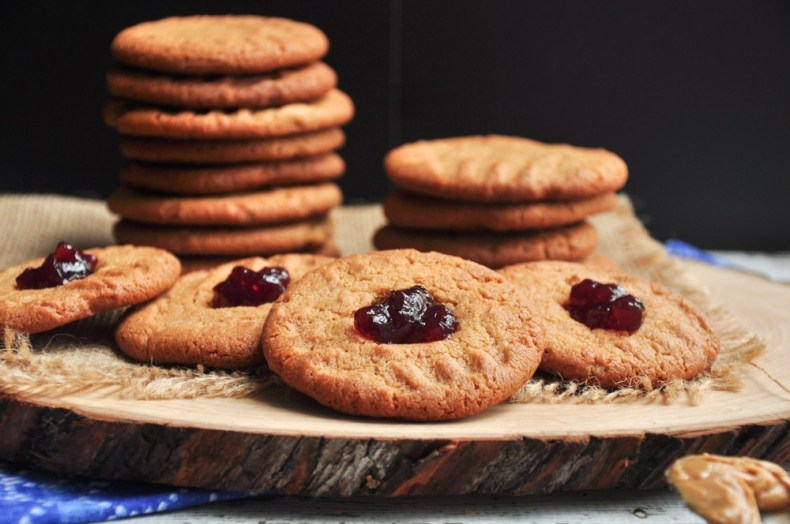 peanut butter jelly cookies by StreetSmart Kitchen