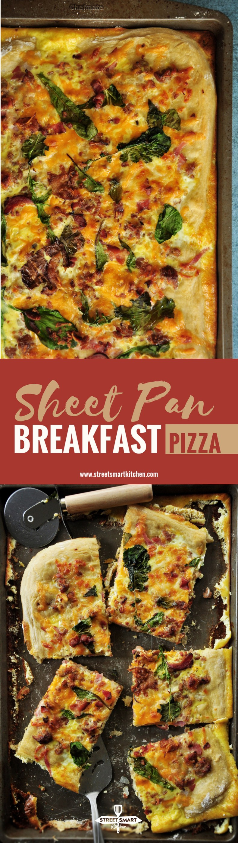 Sheet Pan Breakfast Pizza Recipe