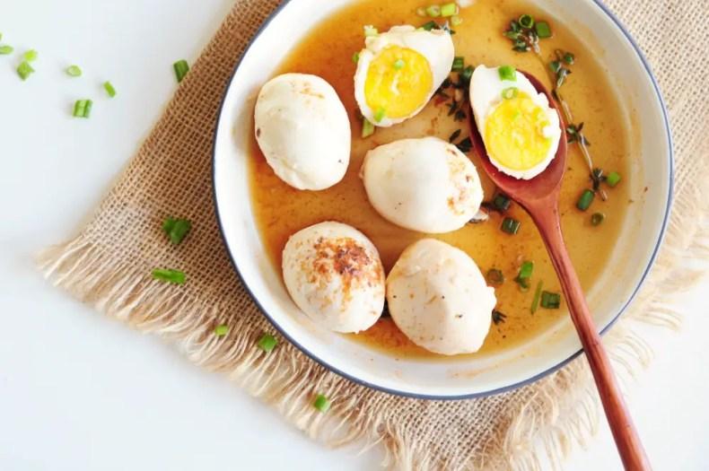 Sous Vide Hard-Boiled Eggs