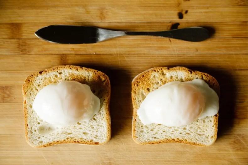 Sous Vide Poached Eggs