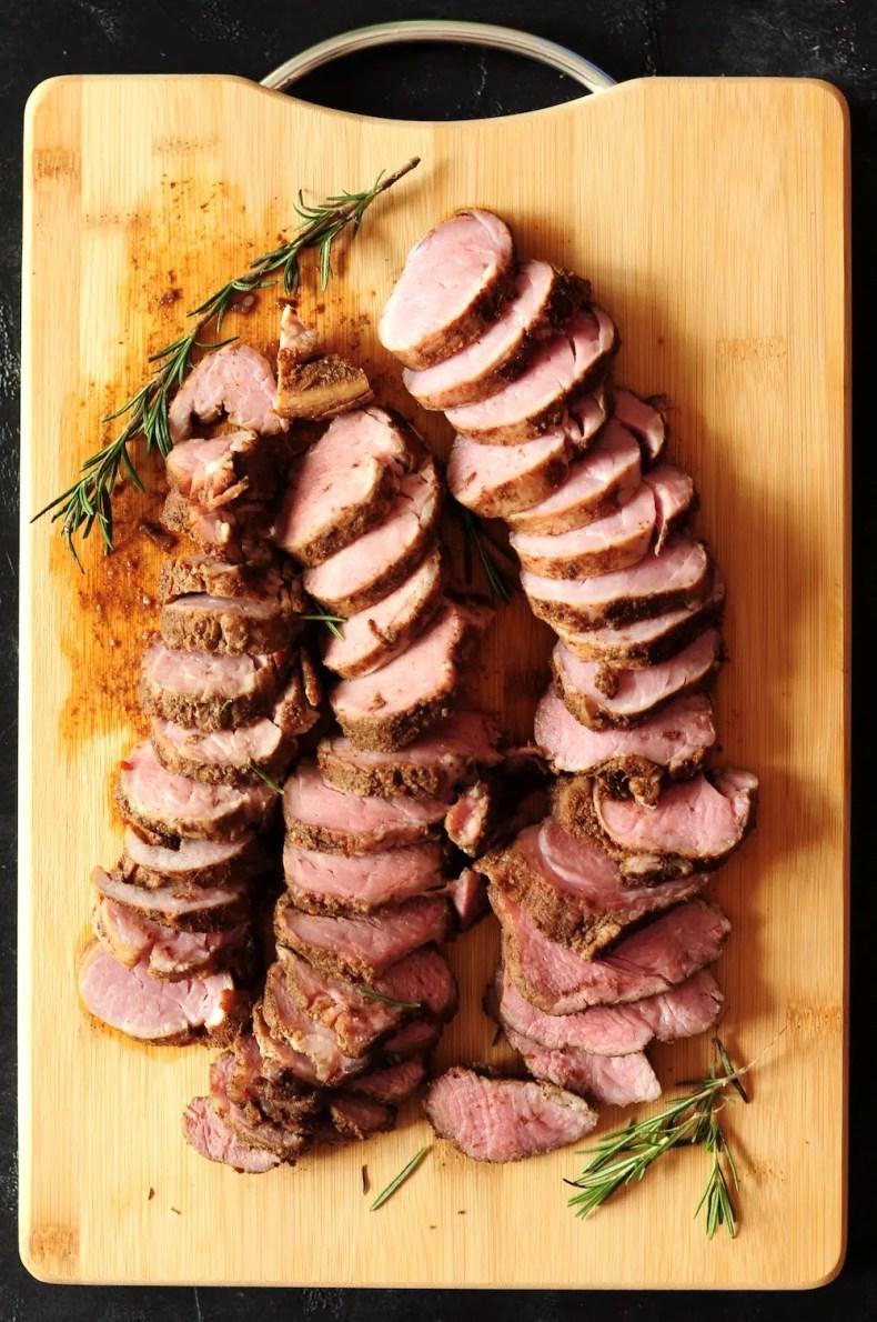 Sous Vide Pork Tenderloin (Jamaican Jerk Style)