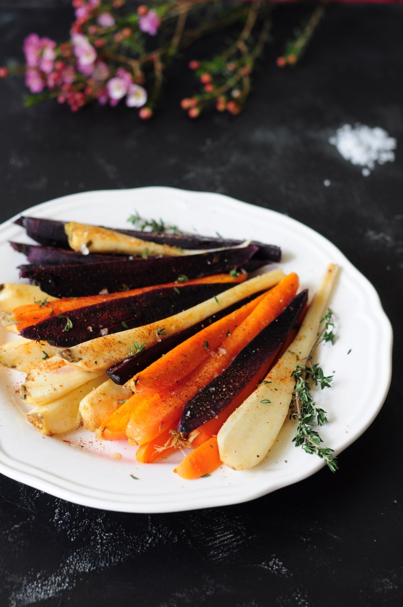 A step-by-step guide to sous vide carrots along with a spiced honey-butter carrot recipe that changes your carrot game forever!