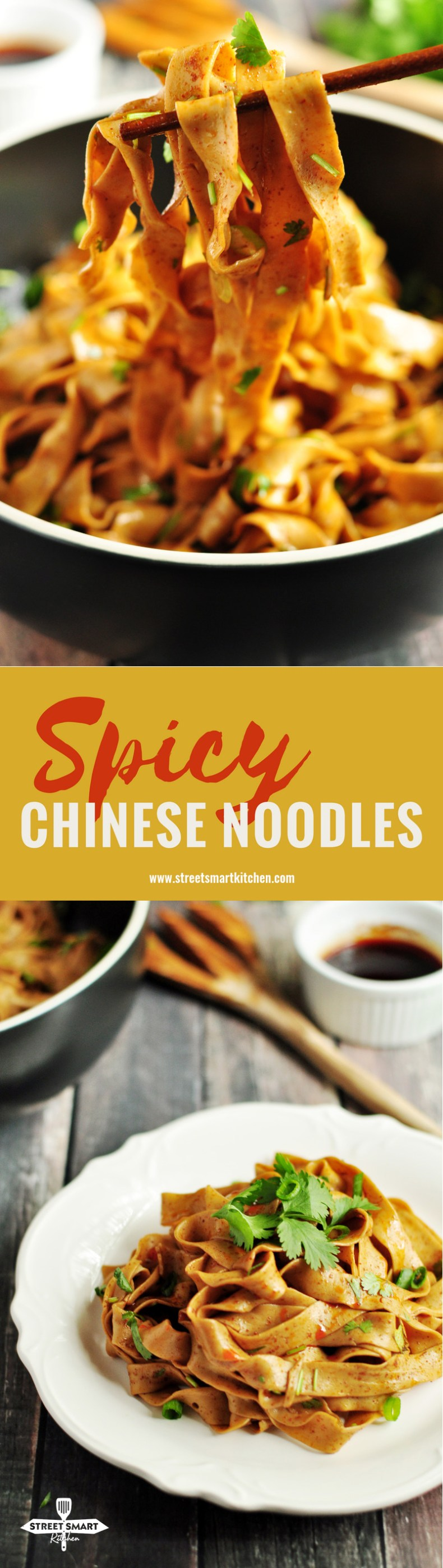 Spicy Chinese Noodles