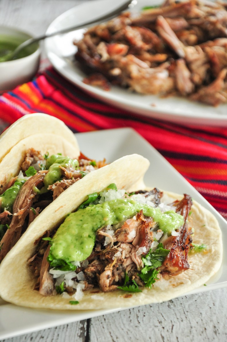 Tacos de Carnitas with Sous Vide Pork Shoulder