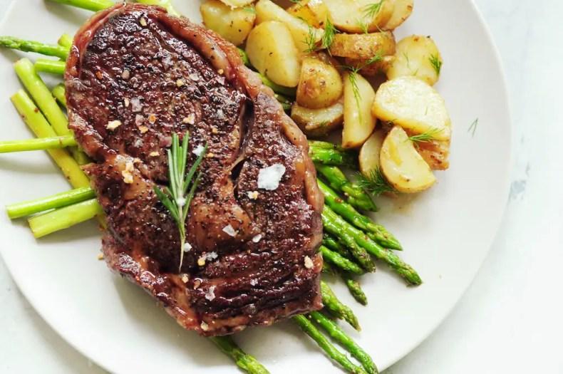 sous vide frozen steak meal