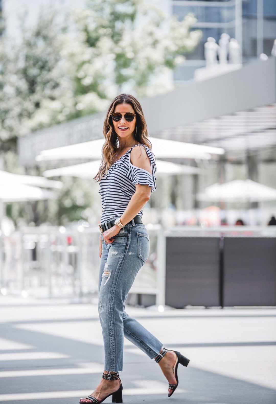 24fc8feda67d90 STRIPES AND A COLD-SHOULDER YES I'LL TAKE IT + A $600 NORDSTROM GIFT CARD  GIVEAWAY