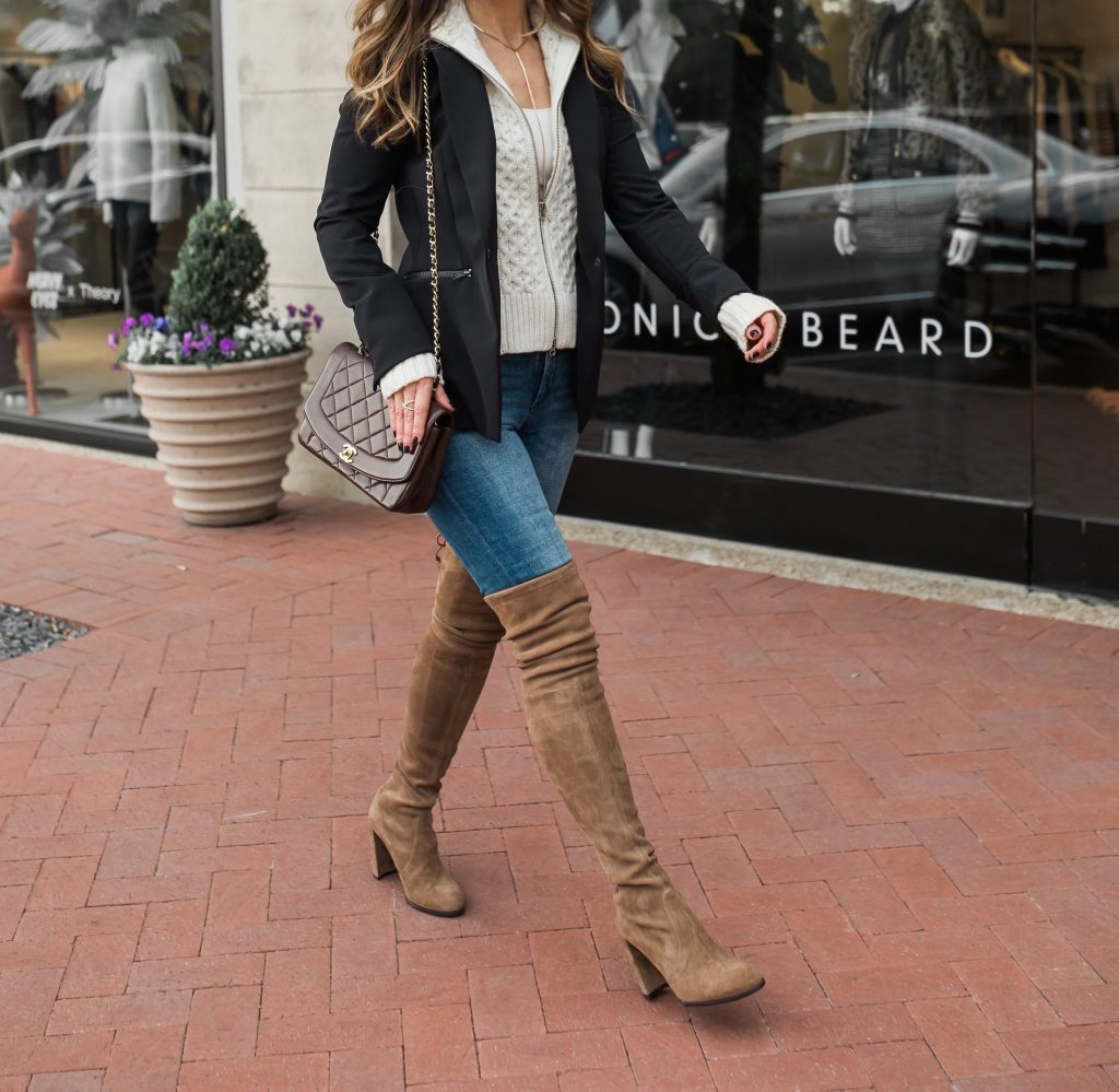 Stuart Weitzman OTK boots | My Favorite Boots For Fall & Winter