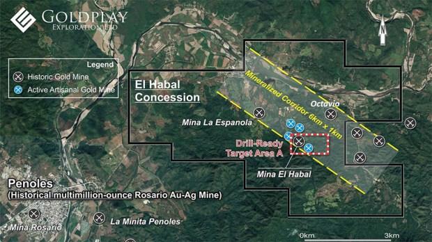 Goldplay El Habal Map
