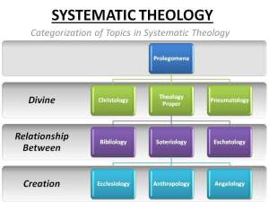 theology - systematic
