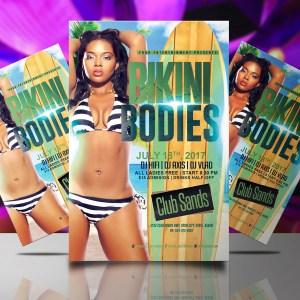 Bikin Bodies Flyer Template