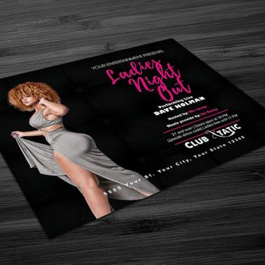 Ladies Night Out 2 Flyer Template