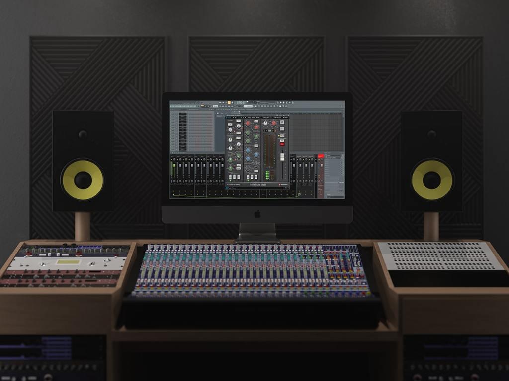 FL Studio BX_Console SSL 4000 E Mixing Template