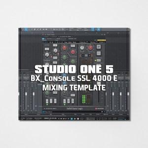 Streetz Myestro - Studio One 5 - BX_Console SSL 4000 E Mixing Template