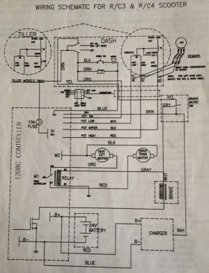 Pride Mobility Scooter Wiring Diagram  Wiring Diagram