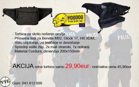 Akcija Voodoo Tactical torbica