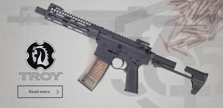 Troy puške pri 365 Plus