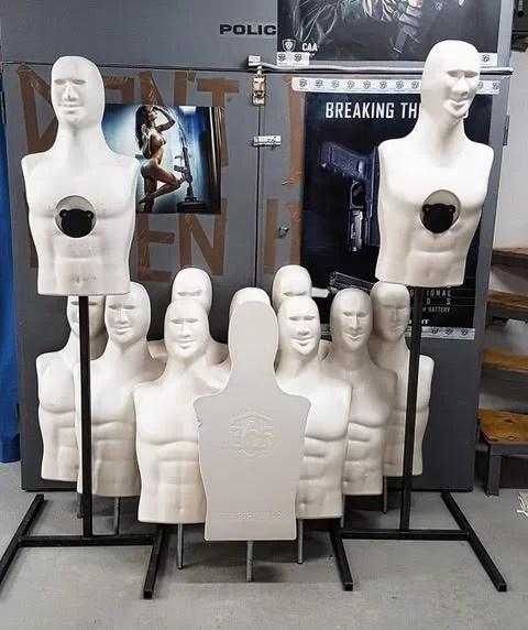 Predstavitev 3D strelskih lutk