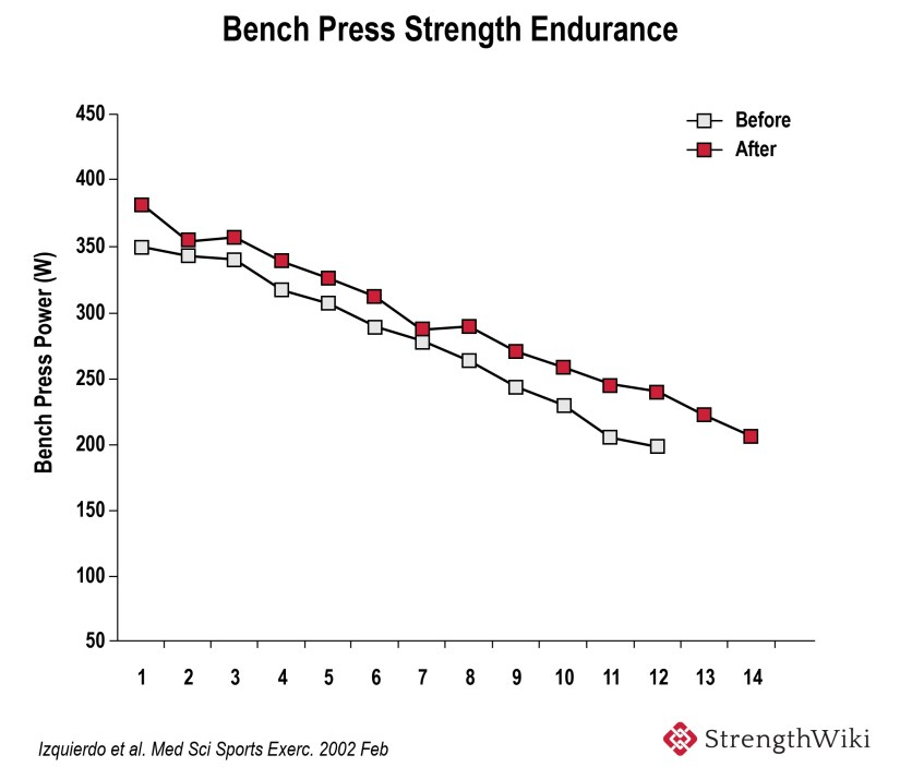 Bench Press Strength Endurance Creatine Supplementation