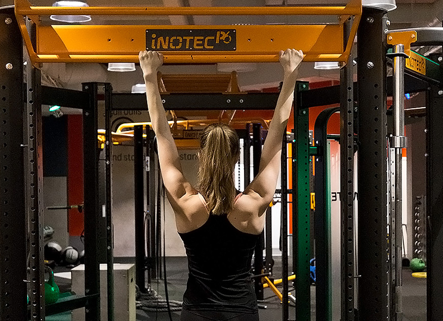 how to do your first pull-up