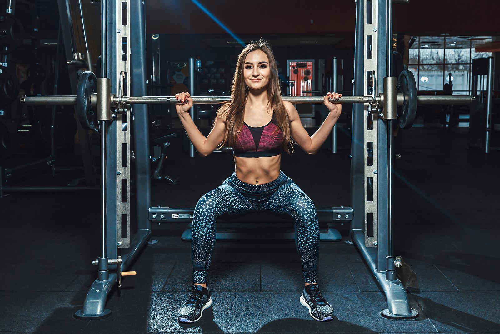 Smith machine squat