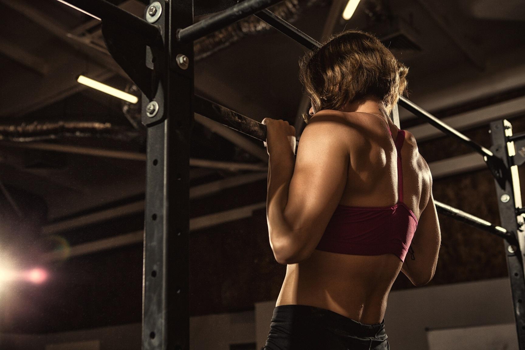 Lats training exercise